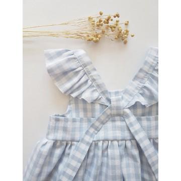Sukienka Vichy Blue