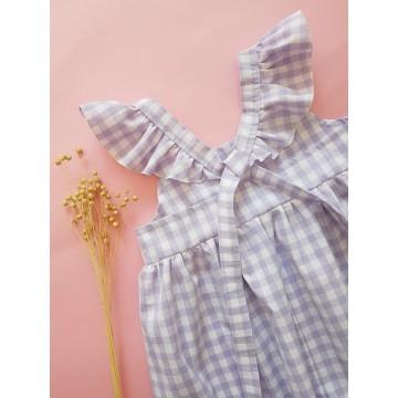 Sukienka Vichy Lila